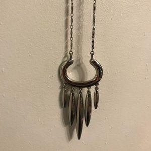 Stella & Dot Nahla Silver Necklace